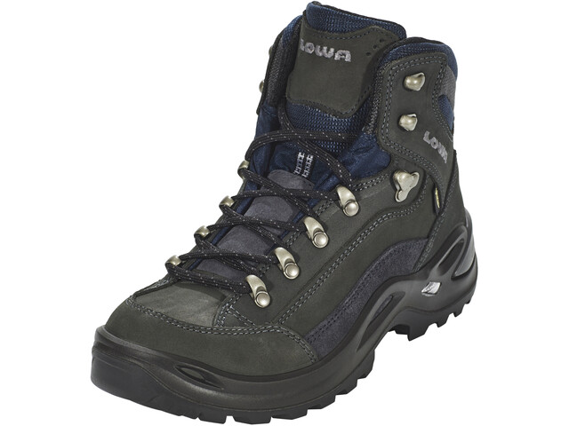 Lowa Renegade GTX Mid Boots Women dark grey/navy